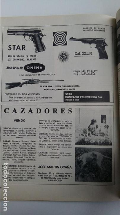 Coleccionismo deportivo: REVISTA CAZA Y PESCA. ABRIL 1977. 412. PUBLICIDAD - Foto 2 - 112208899