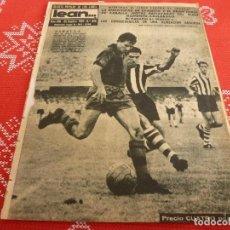 Coleccionismo deportivo: (ML)LEAN(25-9-61)PROX.ESPAÑOL-HANNOVER,BARÇA 4 BILBAO 2,LA VOLTA,SAN MARTIN 1 LÉRIDA 3.. Lote 112292339