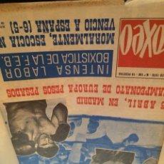 Coleccionismo deportivo: REVISTA 1970 URTAIN BOXEO. Lote 112365647
