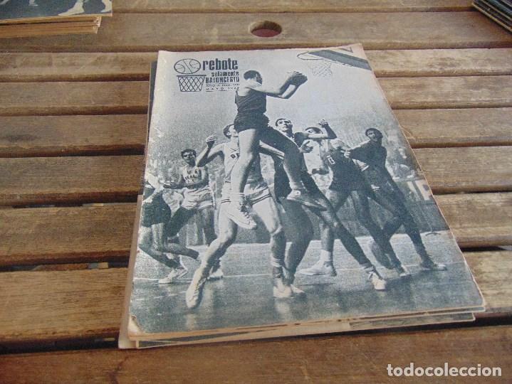 8 REVISTA DE BALONCESTO REBOTE AÑO 1969 DE MAYO A DICIEMBRE (Coleccionismo Deportivo - Revistas y Periódicos - otros Deportes)