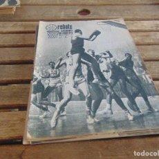 Coleccionismo deportivo: 8 REVISTA DE BALONCESTO REBOTE AÑO 1969 DE MAYO A DICIEMBRE . Lote 112393199