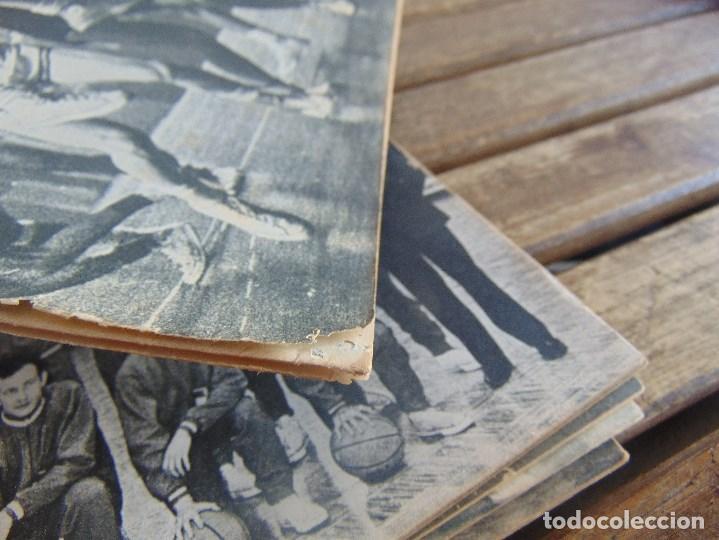 Coleccionismo deportivo: 8 REVISTA DE BALONCESTO REBOTE AÑO 1969 DE MAYO A DICIEMBRE - Foto 3 - 112393199