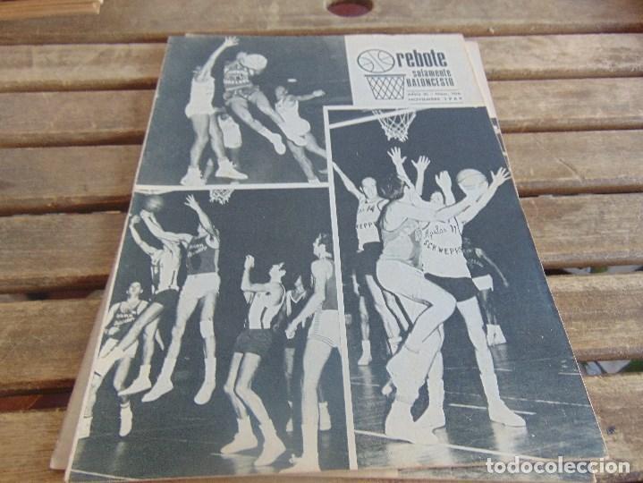 Coleccionismo deportivo: 8 REVISTA DE BALONCESTO REBOTE AÑO 1969 DE MAYO A DICIEMBRE - Foto 9 - 112393199