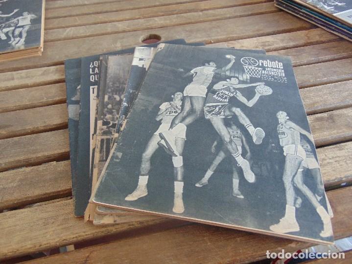 11 REVISTA DE BALONCESTO REBOTE AÑO 1970 AÑO COMPLETO (Coleccionismo Deportivo - Revistas y Periódicos - otros Deportes)