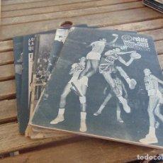 Coleccionismo deportivo: 11 REVISTA DE BALONCESTO REBOTE AÑO 1970 AÑO COMPLETO. Lote 112393371