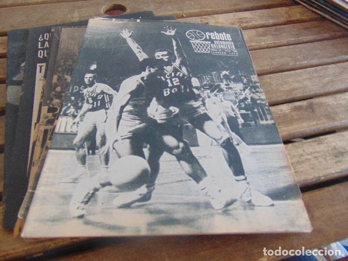 Coleccionismo deportivo: 11 REVISTA DE BALONCESTO REBOTE AÑO 1970 AÑO COMPLETO - Foto 3 - 112393371