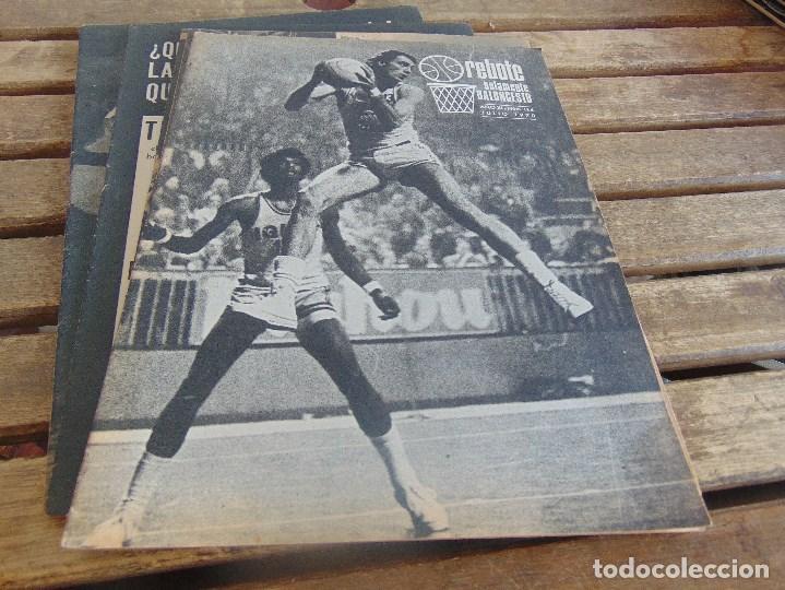 Coleccionismo deportivo: 11 REVISTA DE BALONCESTO REBOTE AÑO 1970 AÑO COMPLETO - Foto 8 - 112393371