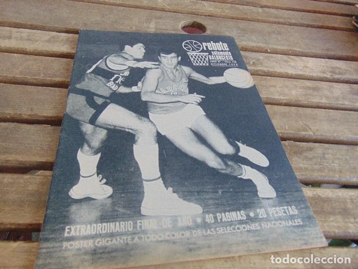 Coleccionismo deportivo: 11 REVISTA DE BALONCESTO REBOTE AÑO 1970 AÑO COMPLETO - Foto 12 - 112393371