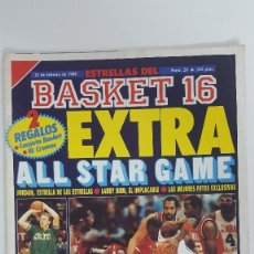 Coleccionismo deportivo: BASKET 16 EXTRA ALL STAR GAME 20. Lote 112906027