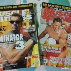 Coleccionismo deportivo: 2 REVISTAS MUSCLE & FITNESS N°241 Y N°255. Lote 113206771