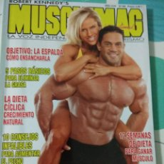 Coleccionismo deportivo: REVISTA MUSCLEMAG N°186. Lote 113209415