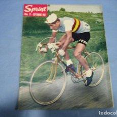 Coleccionismo deportivo: REVISTA DE CICLISMO SPRINT AÑOS 60. Lote 113224091