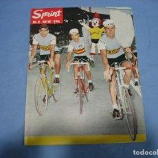 Coleccionismo deportivo: REVISTA DE CICLISMO SPRINT AÑOS 60. Lote 113224111