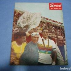 Coleccionismo deportivo: REVISTA DE CICLISMO SPRINT AÑOS 60. Lote 113224211