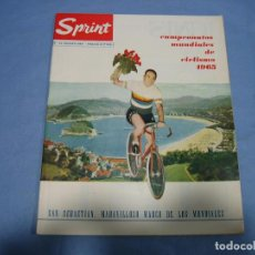 Coleccionismo deportivo: REVISTA DE CICLISMO SPRINT AÑOS 60. Lote 113224255