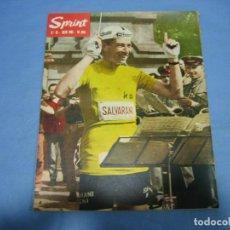 Coleccionismo deportivo: REVISTA DE CICLISMO SPRINT AÑOS 60. Lote 113224267