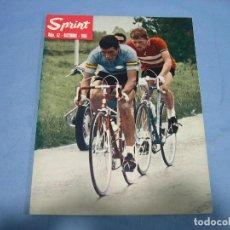 Coleccionismo deportivo: REVISTA DE CICLISMO SPRINT AÑOS 60. Lote 113224339