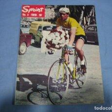 Coleccionismo deportivo: REVISTA DE CICLISMO SPRINT AÑOS 60. Lote 113224351