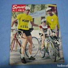 Coleccionismo deportivo: REVISTA DE CICLISMO SPRINT AÑOS 60. Lote 113224431