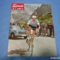 Coleccionismo deportivo: REVISTA DE CICLISMO SPRINT AÑOS 60. Lote 113224547