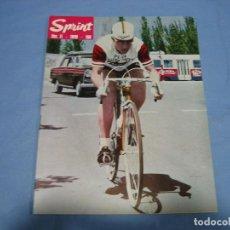 Coleccionismo deportivo: REVISTA DE CICLISMO SPRINT AÑOS 60. Lote 113224579