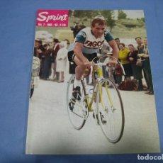 Coleccionismo deportivo: REVISTA DE CICLISMO SPRINT AÑOS 60. Lote 113224655