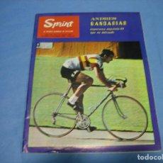 Coleccionismo deportivo: REVISTA DE CICLISMO SPRINT AÑOS 60. AÑO VIII. NÚMERO 92. AGOSTO 1969. NÚMERO EXTRAORDINARIO. Lote 113277359