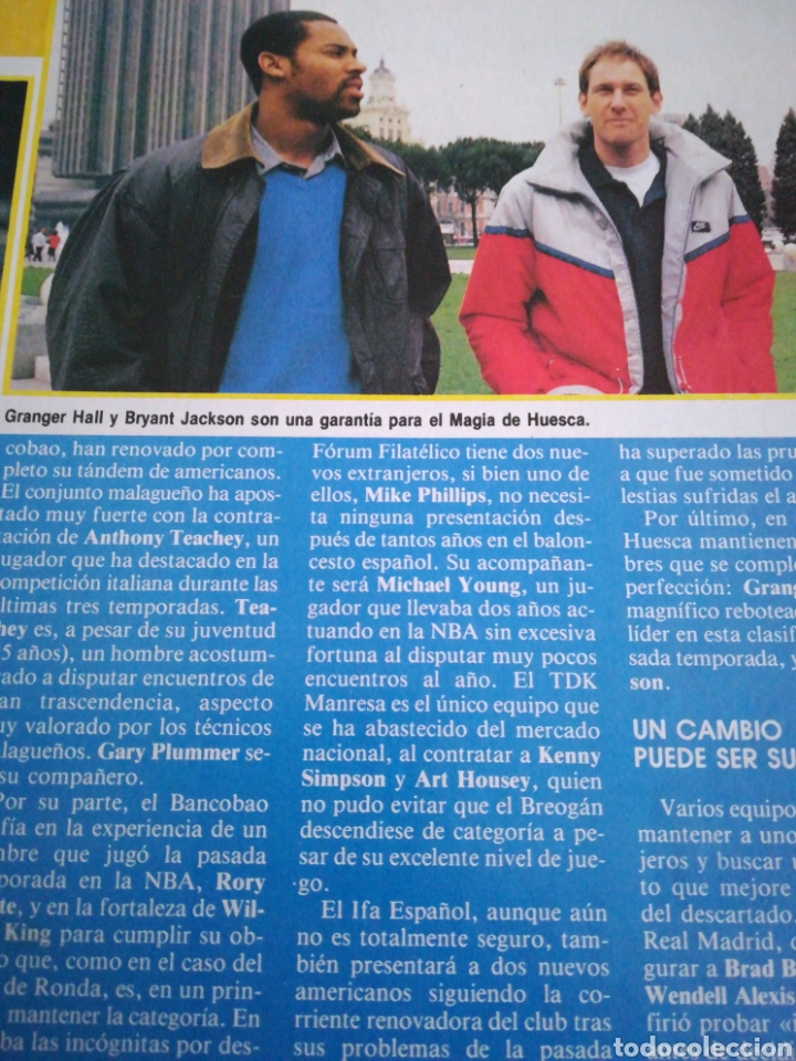 Coleccionismo deportivo: Gigantes del basket 24 agosto 1987 número 94 Extranjeros en España , dinero y espectáculo - Foto 3 - 113588796