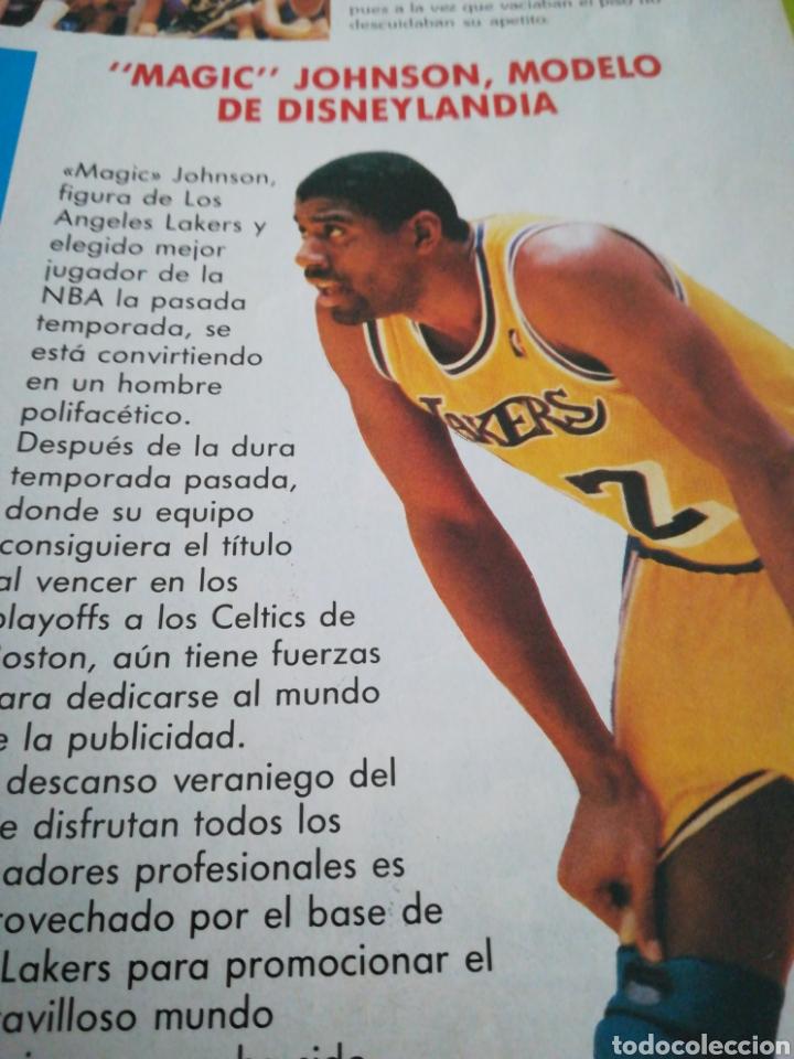 Coleccionismo deportivo: Gigantes del basket 24 agosto 1987 número 94 Extranjeros en España , dinero y espectáculo - Foto 4 - 113588796