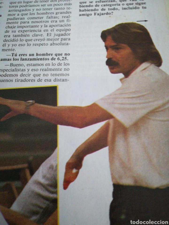 Coleccionismo deportivo: Gigantes del basket número 49 octubre 1986 ¿Qué pasa al Barça? Manel Comas Cai - Foto 3 - 113589106