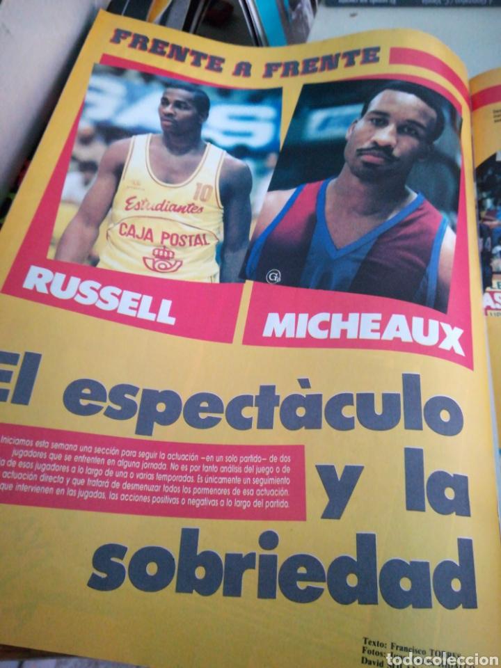 Coleccionismo deportivo: Gigantes del basket número 49 octubre 1986 ¿Qué pasa al Barça? Manel Comas Cai - Foto 4 - 113589106