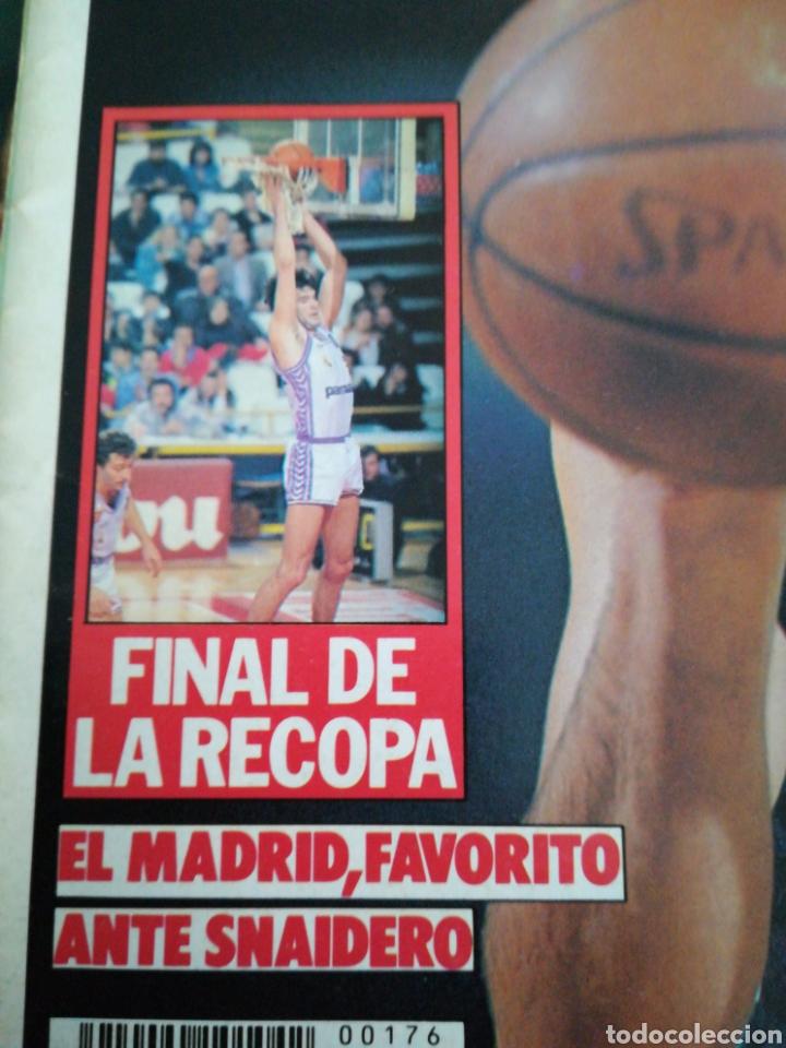 Coleccionismo deportivo: Gigantes del Basket Montero Madrid Recopa número 176 marzo 1989 - Foto 2 - 113589430