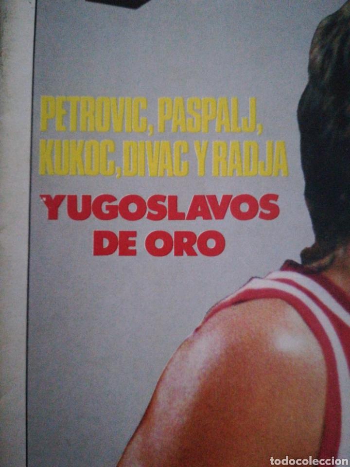 Coleccionismo deportivo: Gigantes del basket número 182 Sabonis se acerca a España - Foto 2 - 113597416