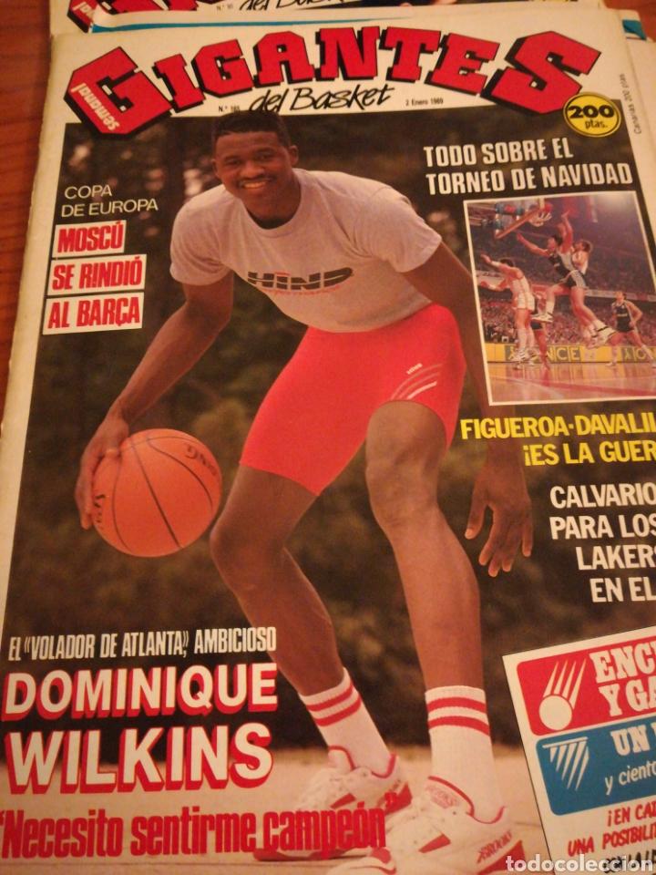 GIGANTES DEL BASKET DOMINIQUE WILKINS MOSCÚ SE RINDIÓ AL BARÇA NÚMERO 165 ENERO 1989 (Coleccionismo Deportivo - Revistas y Periódicos - otros Deportes)