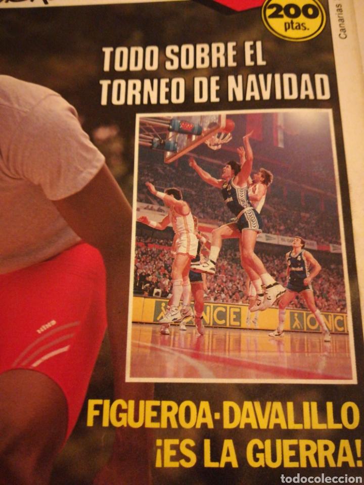 Coleccionismo deportivo: Gigantes del Basket Dominique Wilkins Moscú se rindió al Barça número 165 enero 1989 - Foto 2 - 113698298