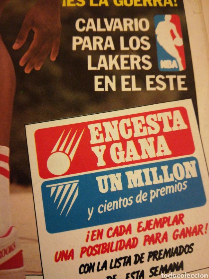 Coleccionismo deportivo: Gigantes del Basket Dominique Wilkins Moscú se rindió al Barça número 165 enero 1989 - Foto 3 - 113698298