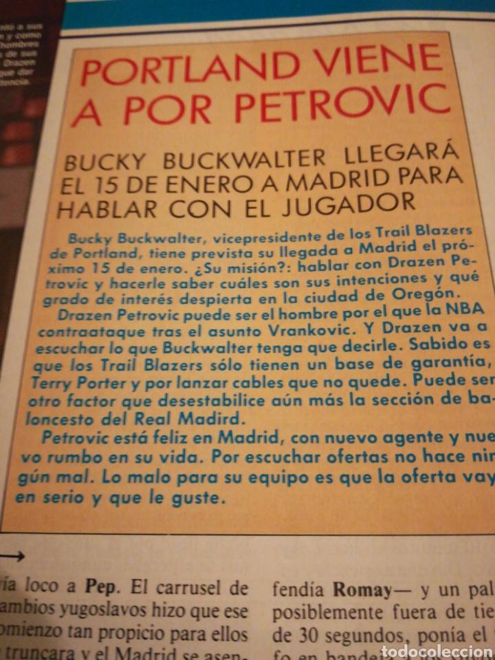 Coleccionismo deportivo: Gigantes del Basket Dominique Wilkins Moscú se rindió al Barça número 165 enero 1989 - Foto 4 - 113698298