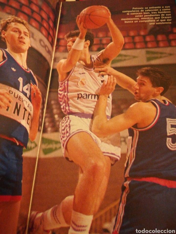Coleccionismo deportivo: Gigantes del Basket Dominique Wilkins Moscú se rindió al Barça número 165 enero 1989 - Foto 5 - 113698298