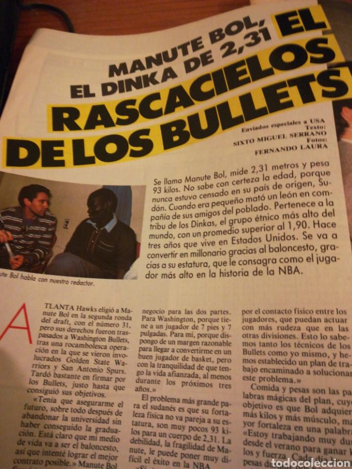Coleccionismo deportivo: Gigantes del Basket Corbalan Manute Bol número 6 Diciembre 1985 - Foto 4 - 113699738