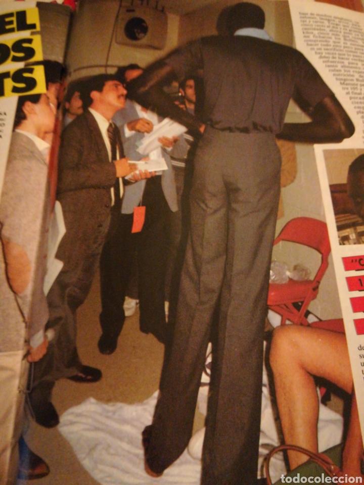 Coleccionismo deportivo: Gigantes del Basket Corbalan Manute Bol número 6 Diciembre 1985 - Foto 6 - 113699738