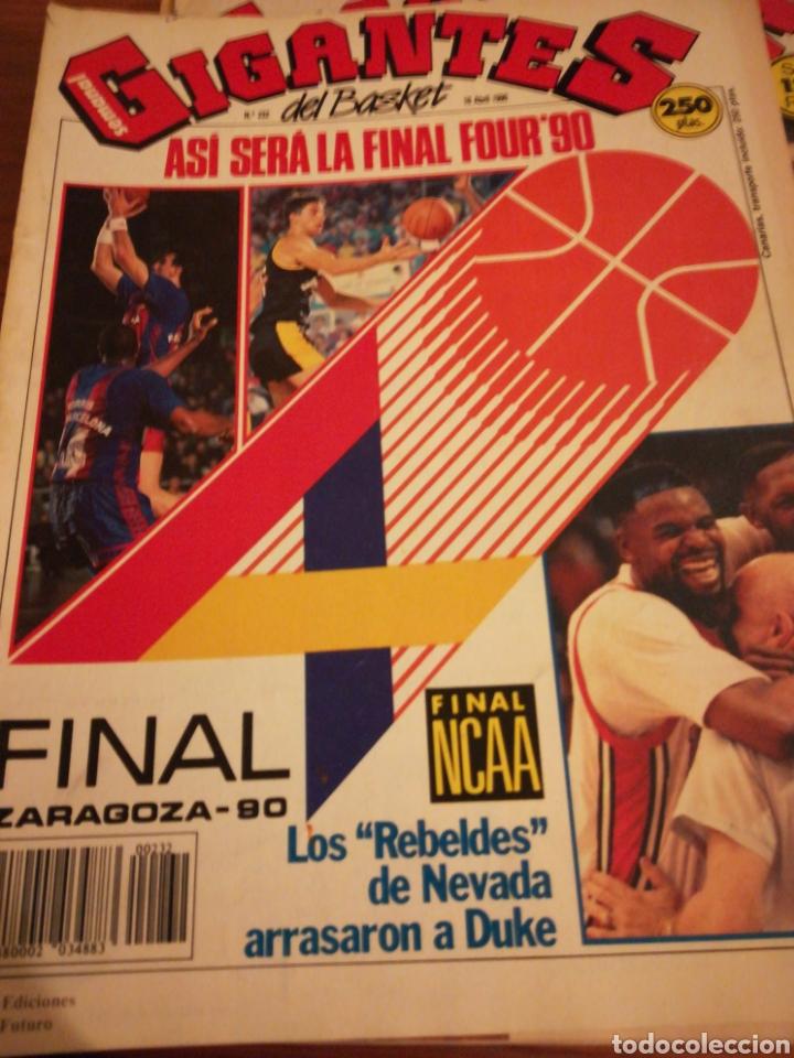 GIGANTES DEL BASKET FINAL FOUR 90 EN ZARAGOZA POSTER JUVENTUD NÚMERO 232 ABRIL 1990 (Coleccionismo Deportivo - Revistas y Periódicos - otros Deportes)