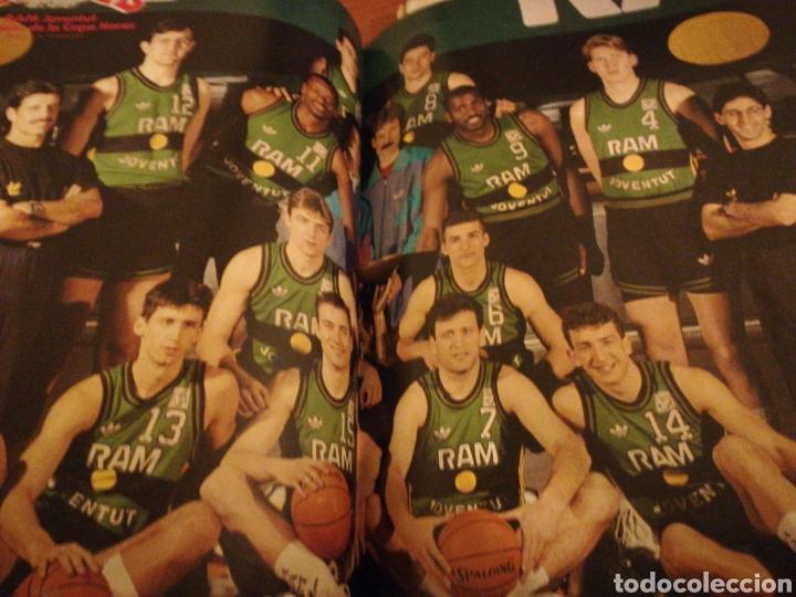 Coleccionismo deportivo: Gigantes del basket final four 90 en Zaragoza poster juventud número 232 abril 1990 - Foto 3 - 113700204