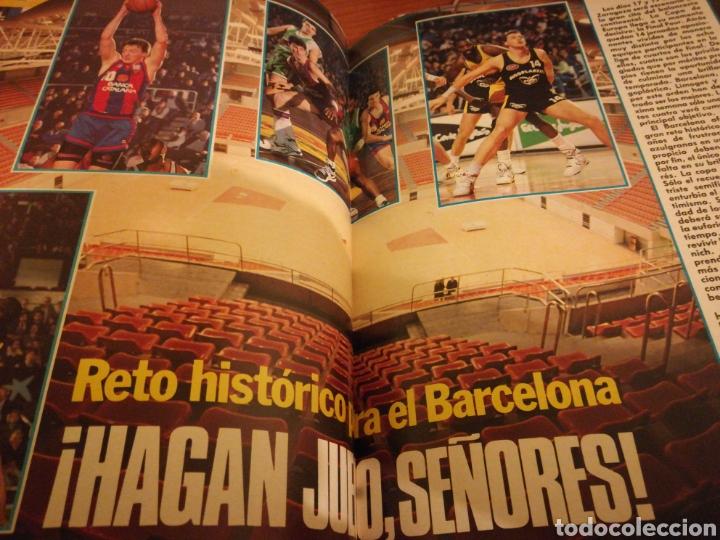 Coleccionismo deportivo: Gigantes del basket final four 90 en Zaragoza poster juventud número 232 abril 1990 - Foto 4 - 113700204