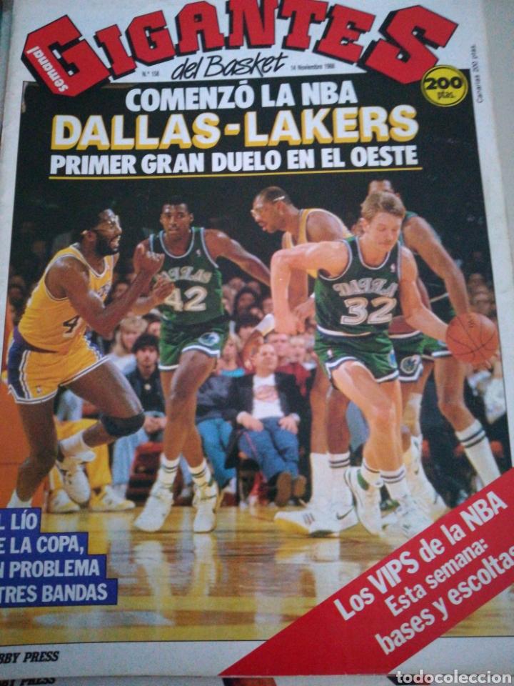 GIGANTES DEL VIPS NBA, SIN PÓSTER, NÚMERO 158, NOVIEMBRE 1988 (Coleccionismo Deportivo - Revistas y Periódicos - otros Deportes)