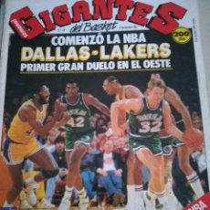 Coleccionismo deportivo: GIGANTES DEL VIPS NBA, SIN PÓSTER, NÚMERO 158, NOVIEMBRE 1988. Lote 113822538