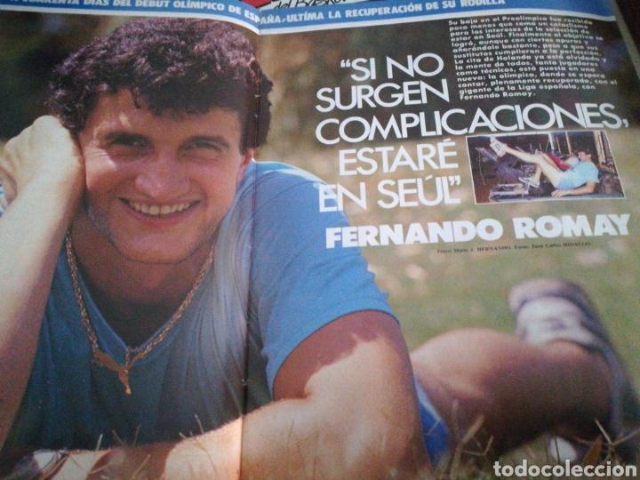 Coleccionismo deportivo: Gigantes del Basket Romay Seùl número 145 Agosto 1988 - Foto 2 - 113822887