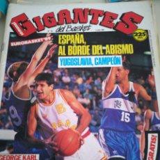 Coleccionismo deportivo: GIGANTES DEL BASKET EUROBASKET 89 , POSTER EPI NÚMERO 191. Lote 113823342
