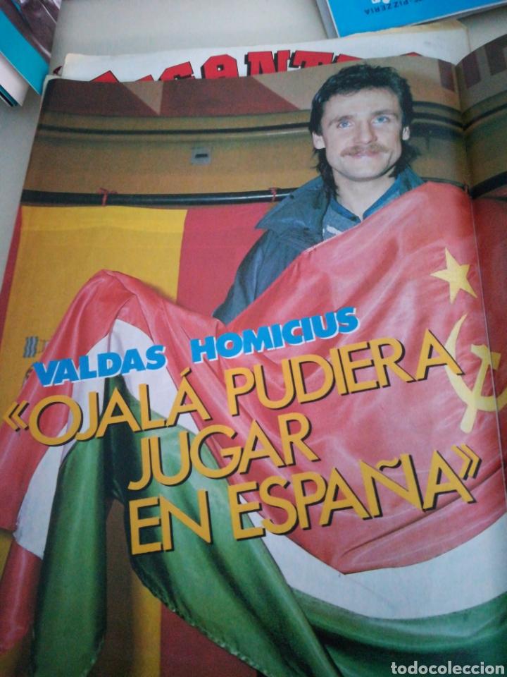 Coleccionismo deportivo: Gigantes del basket Diaz Miguel Homicius número 59 año 1986 - Foto 2 - 113823918