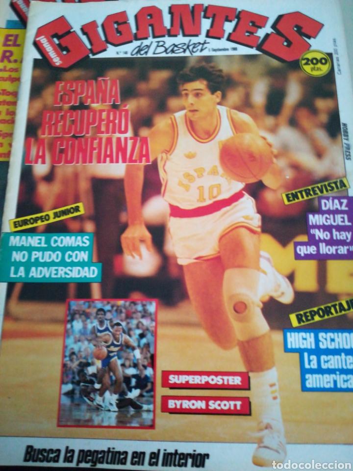 GIGANTES DEL BASKET MANEL COMAS EUROPEO JUNIOR NÚMERO 148 SEPTIEMBRE 1988 (Coleccionismo Deportivo - Revistas y Periódicos - otros Deportes)
