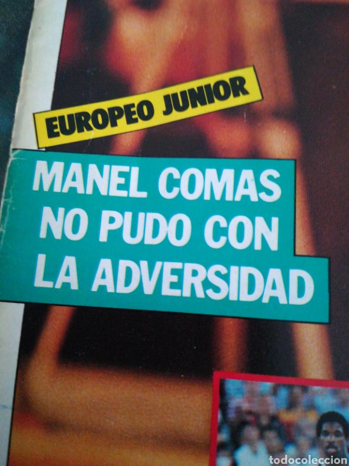 Coleccionismo deportivo: Gigantes del Basket manel comas europeo Junior número 148 septiembre 1988 - Foto 2 - 113824999